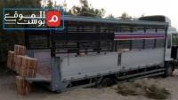 نهب منظم لشاحنات وبضائع التجار على طريق تعز - عدن بتواطؤ مليشيا الانتقالي (تحقيق)