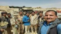 """الجيش الوطني يعلن تقدمه إلى قرب بوابة معسكر """"اللبنات"""" الإستراتيجي بالجوف"""