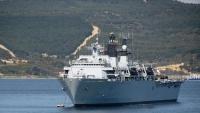 بريطانيا تحقق في انفجار بإحدى سفنها بخليج عمان