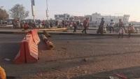 تواصل الاحتجاجات في المكلا لليوم الثالث تنديدا بارتفاع سعر الوقود