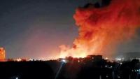"""جماعة الحوثي تتهم """"الهجرة الدولية"""" بالتسبب في حريق مركز إيواء للمهاجرين بصنعاء"""