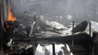 داخلية الحوثيين تصدر بياناً حول نتائج التحقيق بحادثة حريق المهاجرين الإثيوبيين