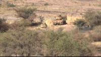 الضالع.. قتلى وجرحى حوثيون بنيران الجيش الوطني في جبهة مريس