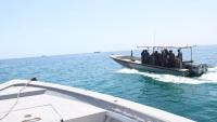 خفر السواحل في حضرموت تنظم دورة لأفراد التشكيل البحري حول استخدام جهاز GBS