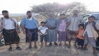مواطن في شبوة يسلم حيوان الوشق العربي النادر لسلطات المحافظة