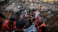 غزة.. 1076 شهيدا وجريحا خلال 5 أيام من العدوان الإسرائيلي