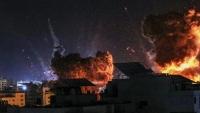 مفاوضات التهدئة تتعثر.. غارات إسرائيلية عنيفة على غزة لليوم التاسع