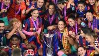 برشلونة أول فريق إسباني يحرز اللقب دوري بطلات أوروبا