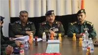 وزير الداخلية يلتقي قيادات أمنية في المهرة