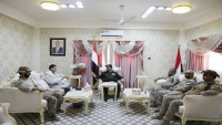 حيدان يبحث مع قائد قوات التحالف بالمهرة جهود مكافحة الإرهاب وتهريب السلاح