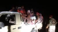 تحرير عشرات المهاجرين الأفارقة محتجزين في منزل أحد المهربين بأبين