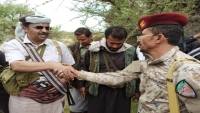 محافظ البيضاء يتفقد أوضاع المقاتلين في جبهات المحافظة