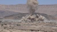 معارك شرسة جنوبي مأرب وغارات للتحالف تستهدف تجمعات وآليات حوثية