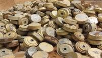 """انتزاع 6 ألغام فردية زرعها الحوثيون في """"ميدي"""" بحجة"""