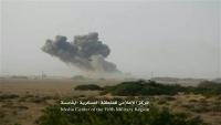 مأرب.. التحالف والجيش يستهدفون تجمعات وآليات للحوثيين