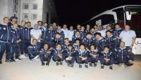 بعثة وحدة صنعاء تتوجه إلى سيئون قبل انطلاق دوري كرة القدم بعد سنوات من التوقف