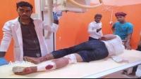 إصابة طالب برصاص الجيش أثناء تفريق مظاهرة منددة بتردي الوضع المعيشي بالمكلا