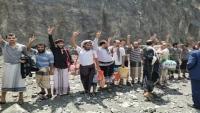 """""""الأمريكي للعدالة"""" يرحب بإطلاق سراح أكثر من 200 معتقل بعملية تبادل بين الجيش والحوثيين في تعز"""