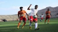 صقر تعز يتعادل سلبيا مع اليرموك وشعب حضرموت يحقق فوزه الأول بمنافسات الدوري الممتاز بشبوة