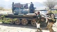 احباط هجوم حوثي على مواقع الجيش جنوب غربي تعز