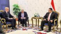 غروندبرغ: الهجوم على موكب محافظ عدن يقوّض جهود إنهاء الحرب باليمن