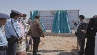 """محافظ المهرة يفتتح الخط الدولي الرابط بين مدينة الغيضة ومديرية """"شحن"""""""