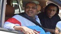 وصول القيادي الجنوبي حسن باعوم إلى المهرة بعد سبع سنوات من الإقامة خارج اليمن