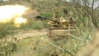 الجيش ينفذ عمليتي إغارة واسعة على مواقع الحوثيين شمالي الضالع