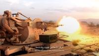 الجيش الوطني يقصف مواقع الحوثيين جنوبي مأرب