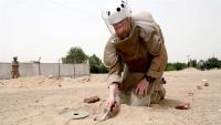 إصابة خبير عسكري بانفجار لغم للحوثيين بالحديدة